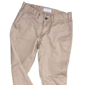 Express skinny fit khaki pants 28x30